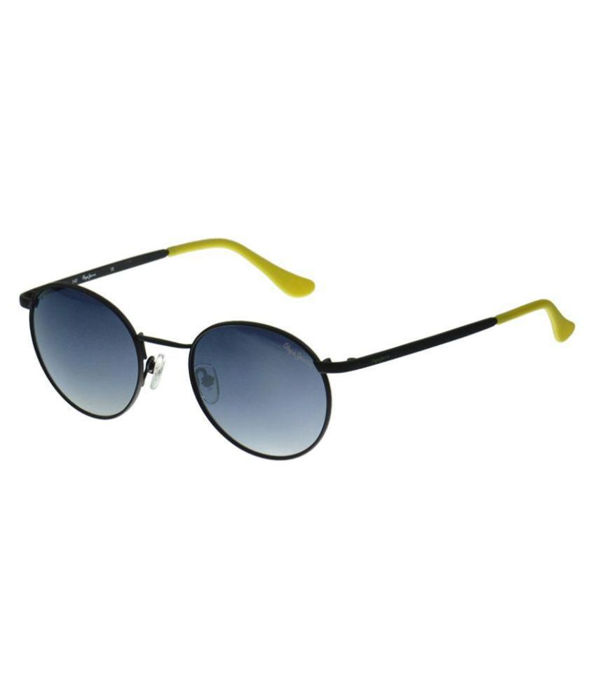 7f7064019d Pepe Jeans Gray Round Sunglasses ( PJ5108C151 ) - Buy Pepe Jeans Gray Round  Sunglasses ( PJ5108C151 ) Online at Low Price - Snapdeal