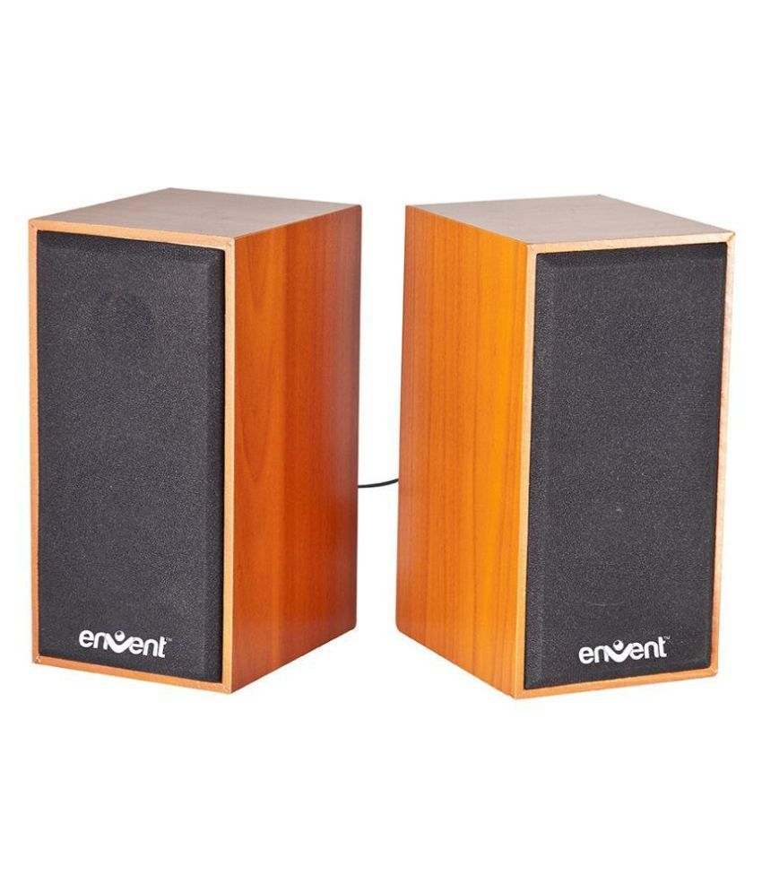 Envent TrueWood 210 USB powered 2.0 speaker with 6W RMS