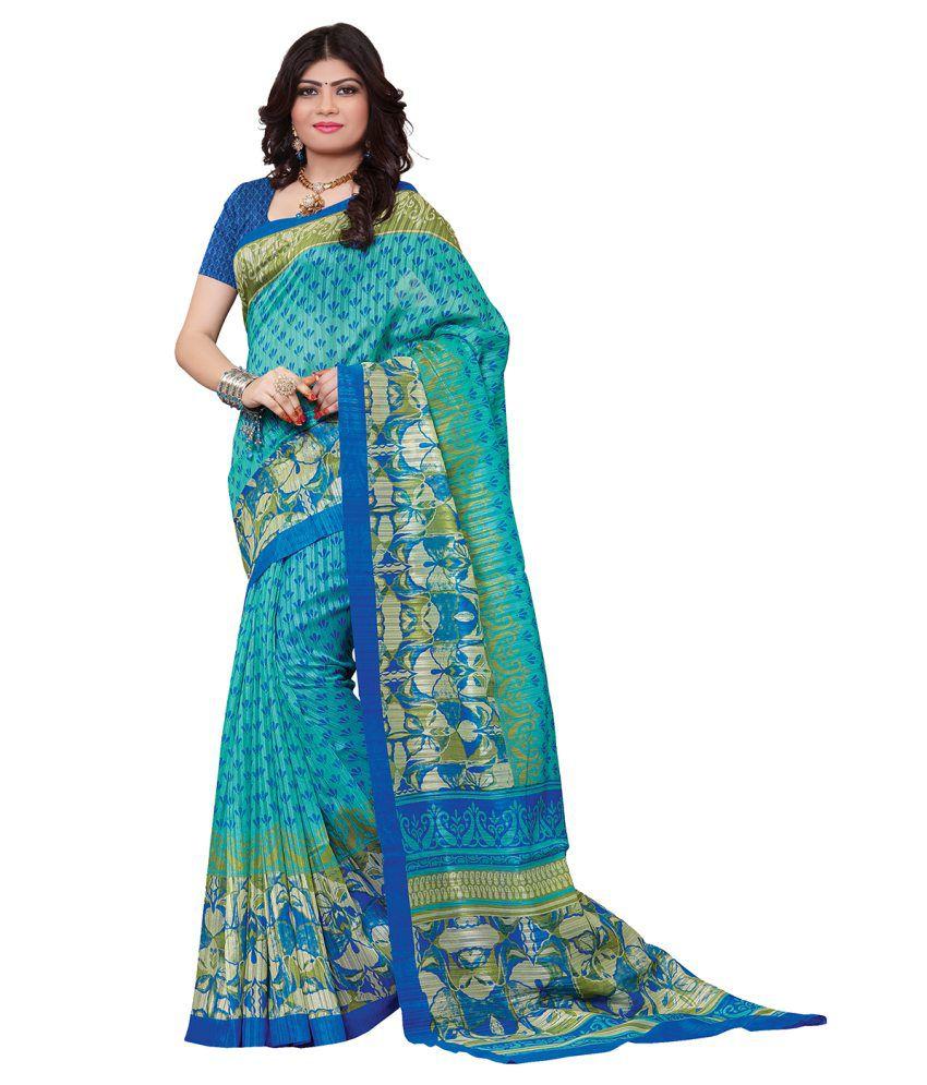 Alethia Enterprise Multicoloured Silk Saree