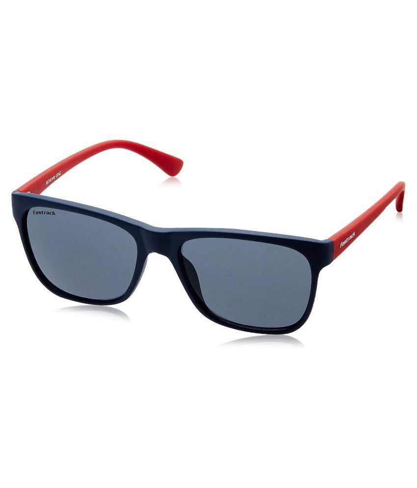 466f1452c212 Fastrack Blue Wayfarer Sunglasses ( P299BU1 ) - Buy Fastrack Blue Wayfarer  Sunglasses ( P299BU1 ) Online at Low Price - Snapdeal