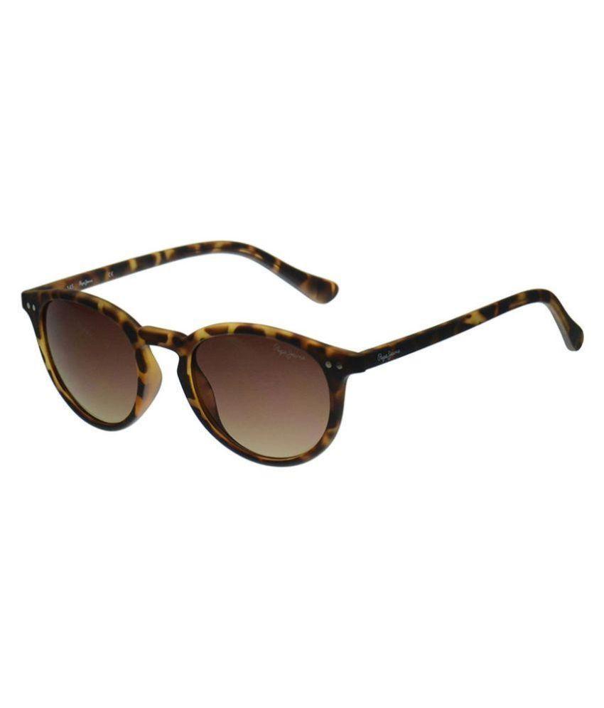 062d913747e Pepe Jeans Brown Wayfarer Sunglasses ( Pj7221c251 )