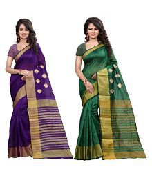 Snapdeal Lugai Silk Saree Combo Offers