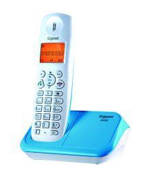 Gigaset A450 Cordless Landline Phone ( White And Blue )