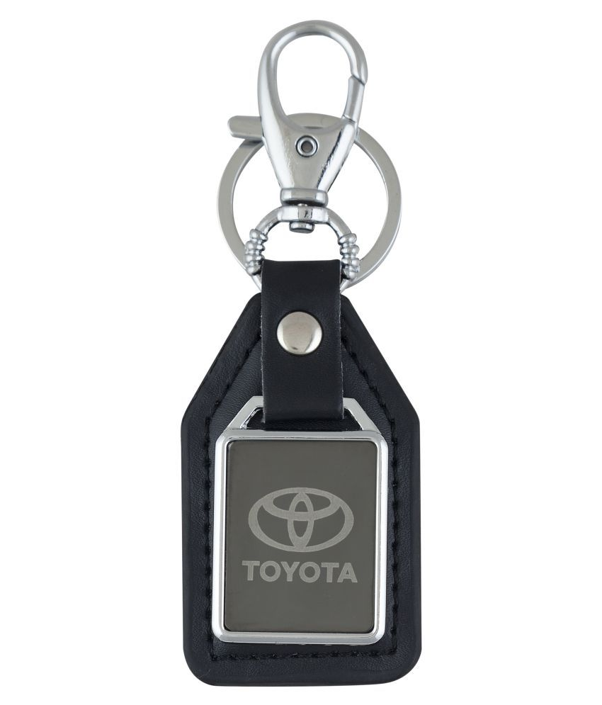 Parrk Toyota Leather Keychain for Men