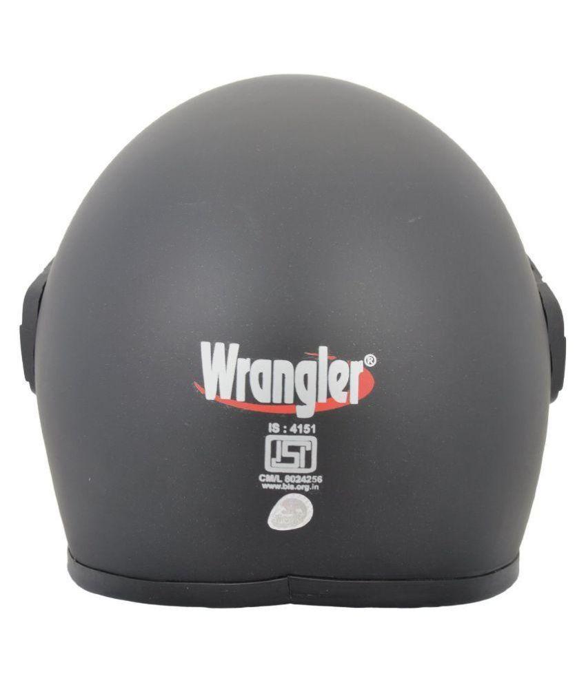 e853b64a Wrangler Gold - Full Face Helmet Black M: Buy Wrangler Gold - Full ...
