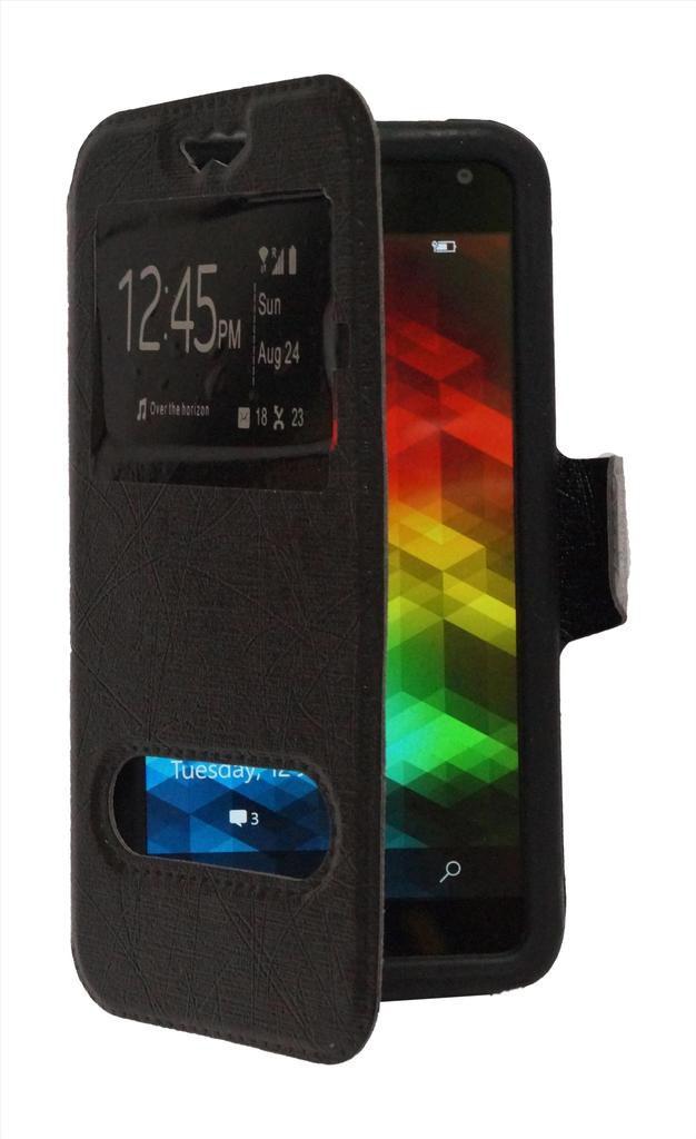 Lenovo Vibe X3 Flip Cover by GEOCELL - Black