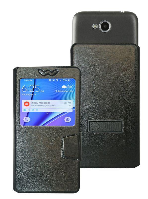 online store fa340 7c064 Sony Xperia E4g Flip Cover by Corcepts - Black