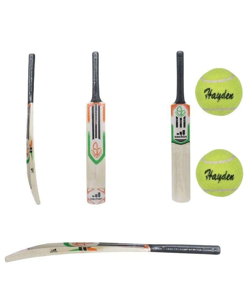 Master Blaster Cricket Bat With 2 Hayden Tennis Balls Buy Online At