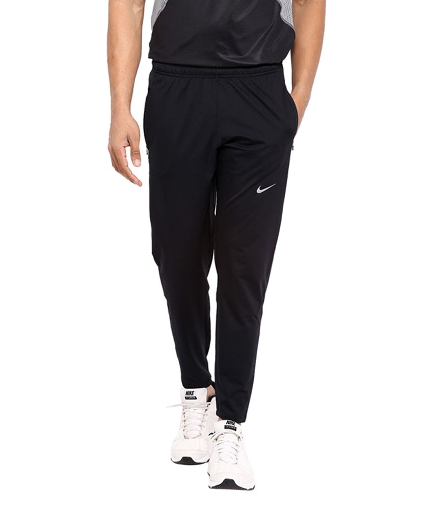 Nike Black DRI-FIT OTC65 Running Track Pant for Men