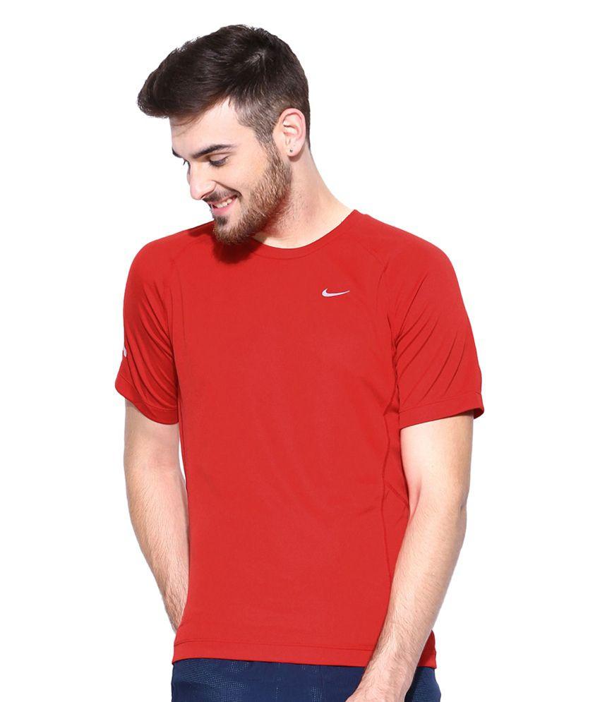 Nike Red Miler UV SS Running T-Shirt for Men