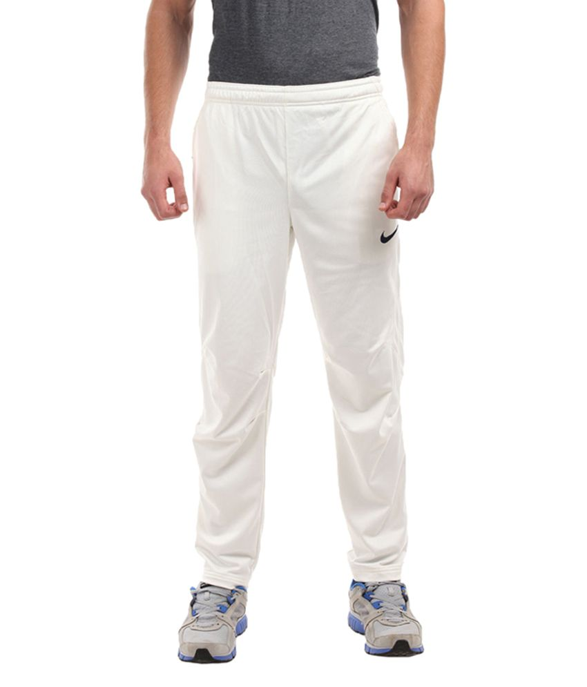 368e2012ea4c Nike White Track Pants for Men  Buy Online at Best Price on Snapdeal