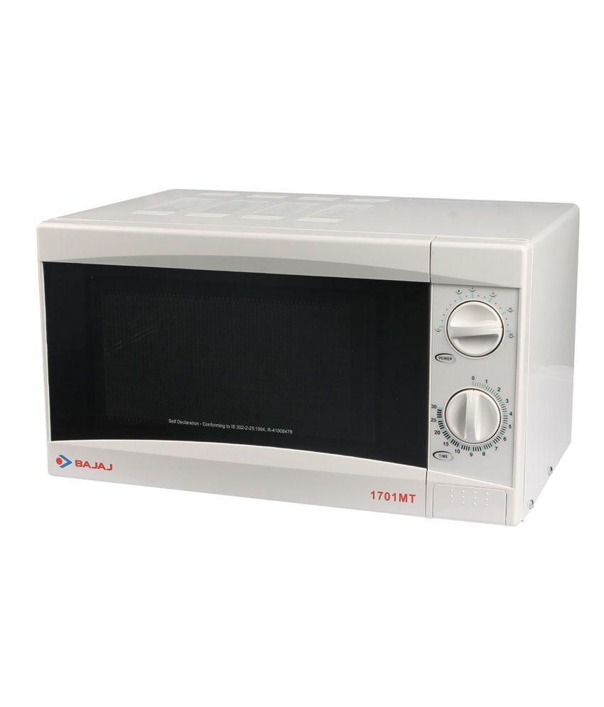 Bajaj 17 Ltr 1701mt Microwave Oven Solo Microwave Oven