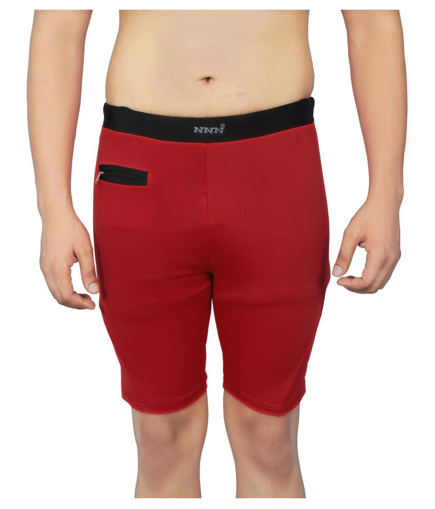 NNN Red Swimming Trunk