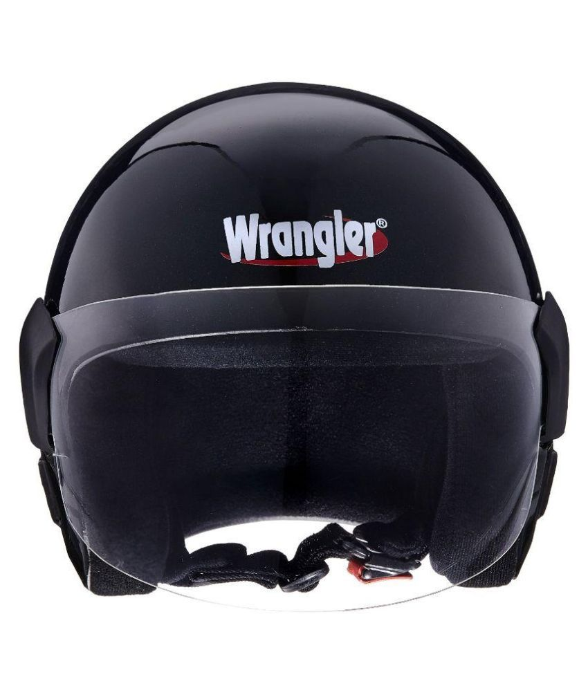 Wrangler Endeavor Open Face Helmet Black L Buy Wrangler