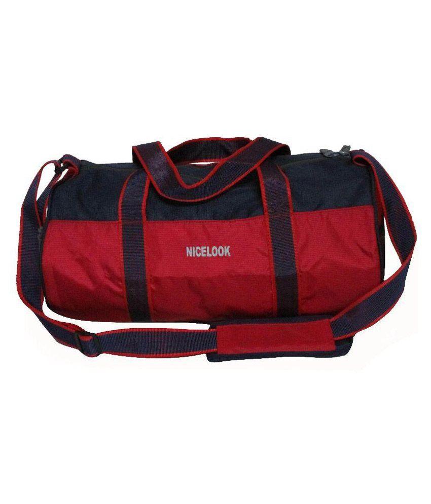 Nicelook Red Gym Bag