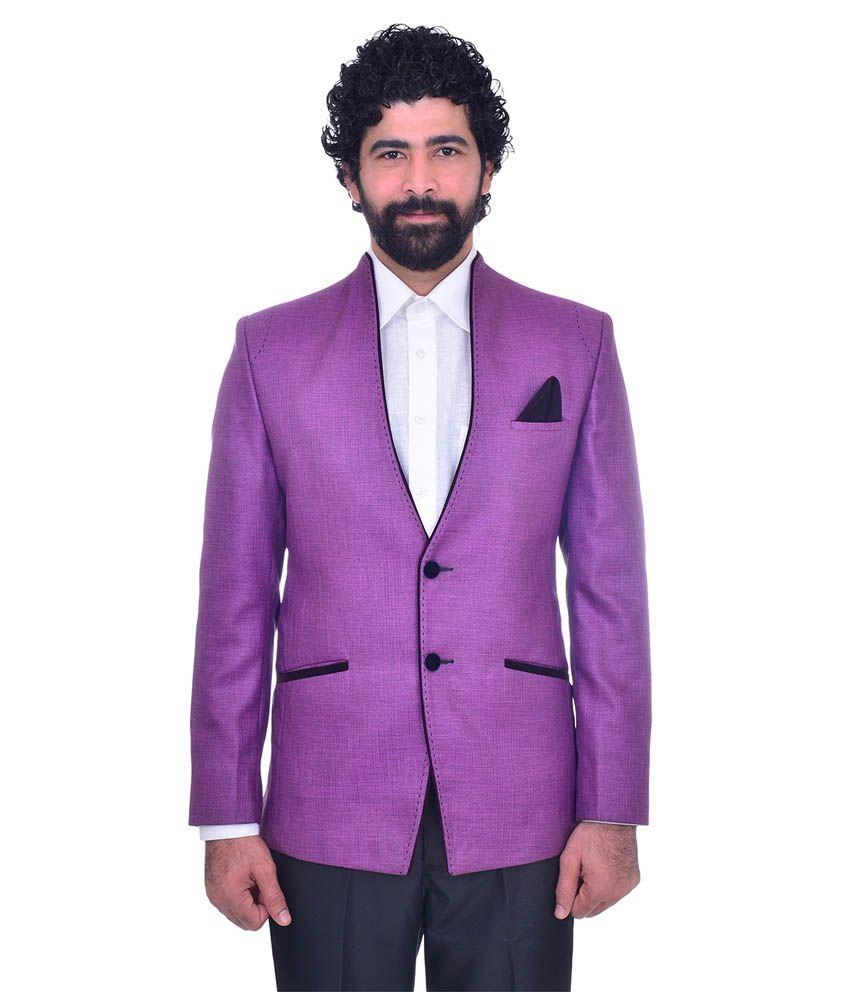 Snoby Purple Party Blazers