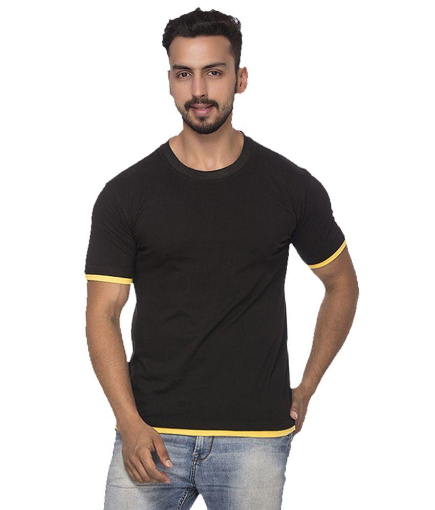 Demokrazy Black Round T-Shirt