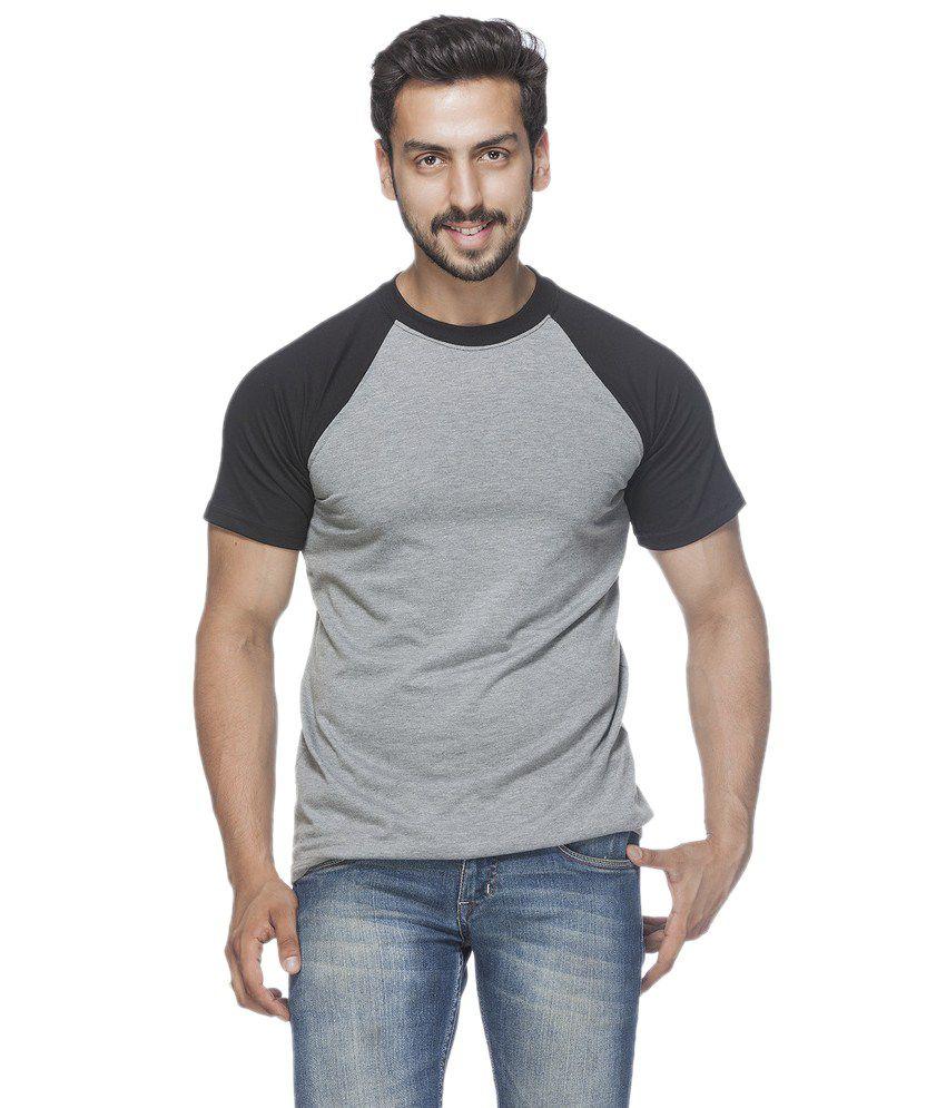 Demokrazy Grey Round T-Shirt