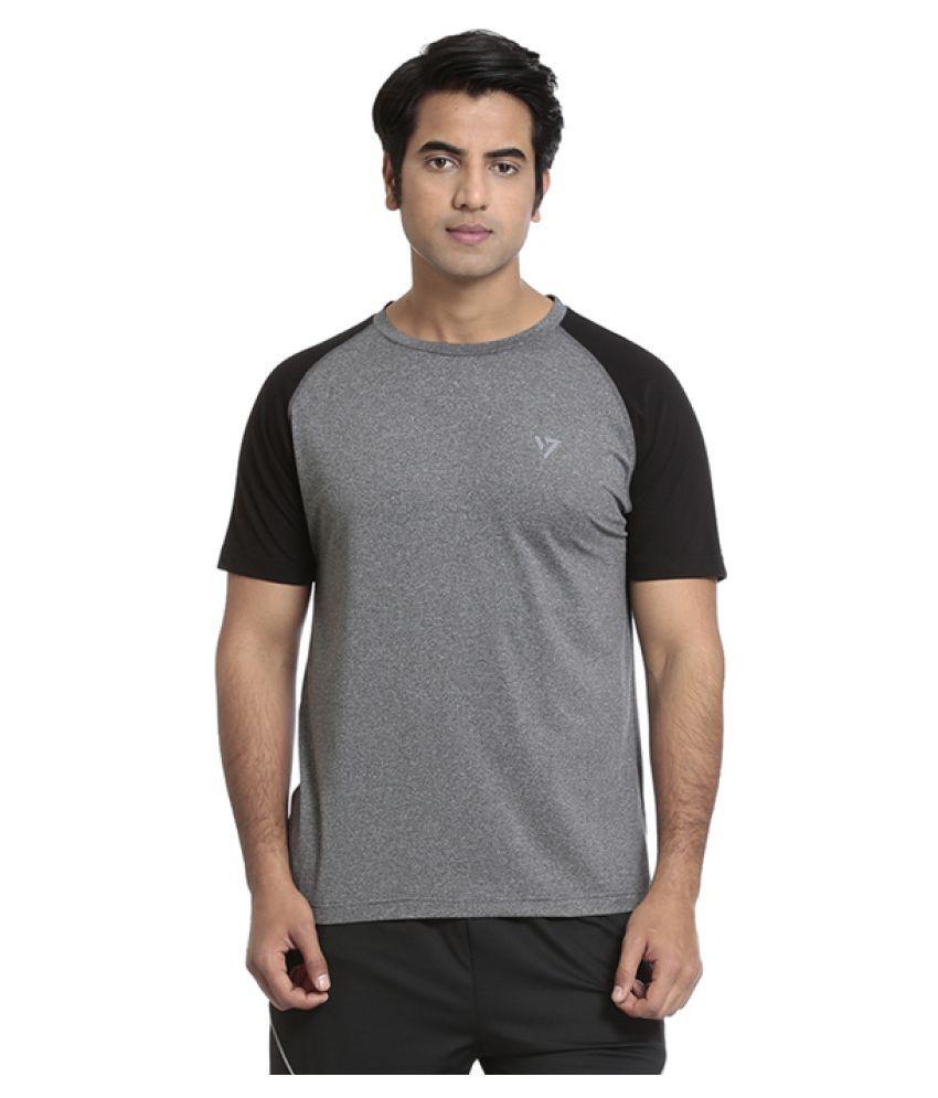 Seven Black T-Shirts
