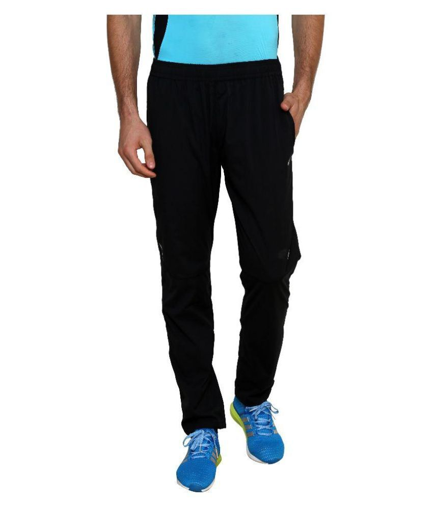 10a5498e49e17 Nike Black Polyester Lycra Trackpants Single - Buy Nike Black Polyester  Lycra Trackpants Single Online at Low Price in India - Snapdeal