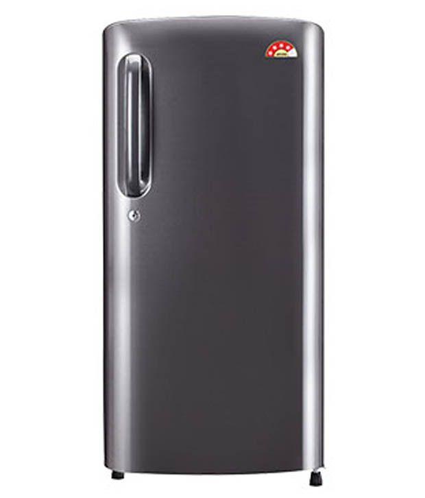 LG 190 LTR 4 Star GL-B201ATNL Direct Cool Refrigerator - Titanium