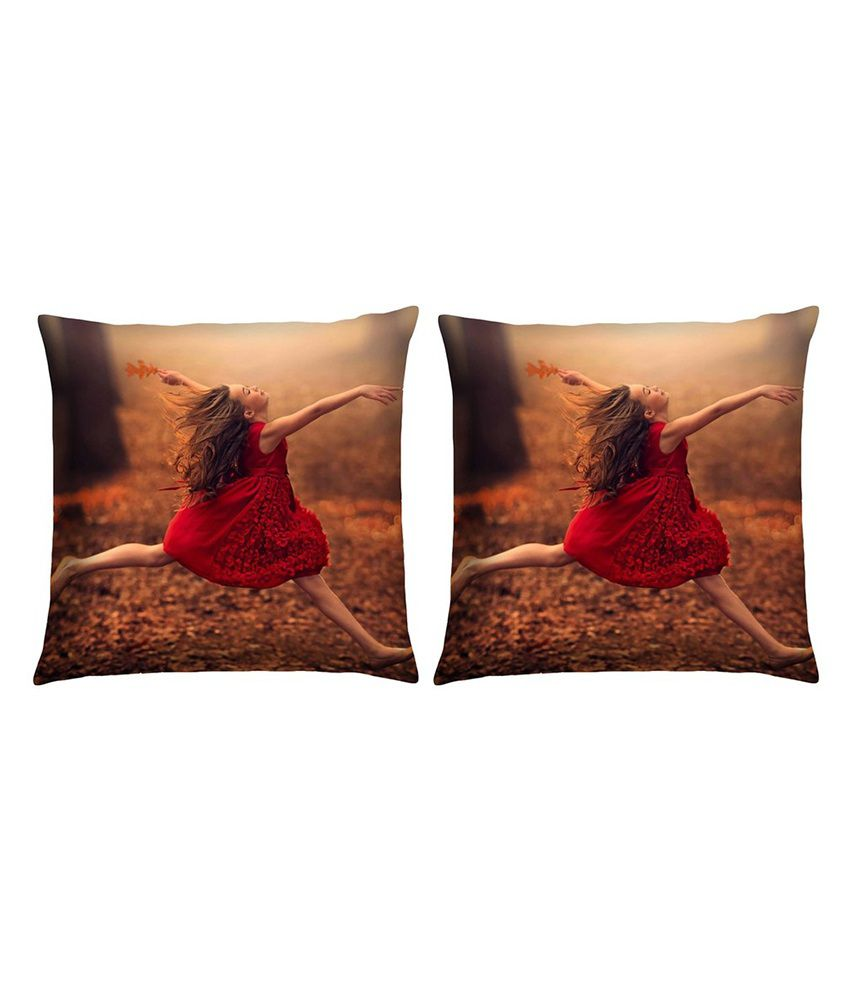 Magical Knots Set of 2 Satin Cushion Covers