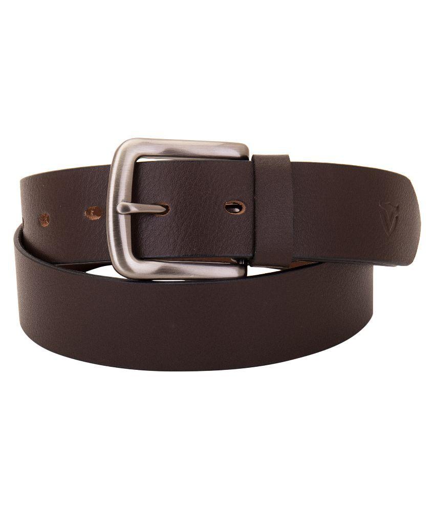 Valbone Brown Leather Belt
