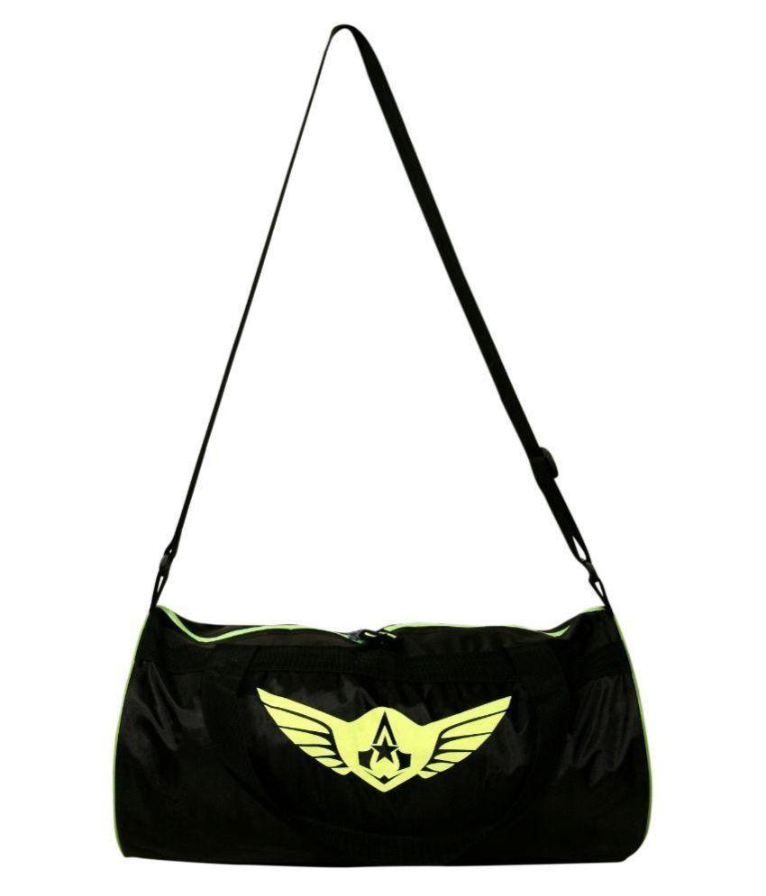 Auxter Black Gym Bag