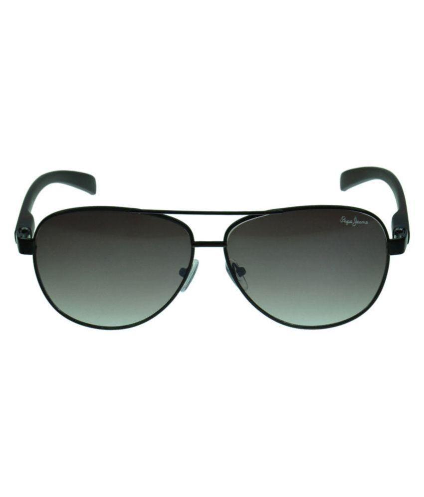 a77db1e983f Pepe Jeans Brown Aviator Sunglasses ( PJ5112C3 ) - Buy Pepe Jeans ...