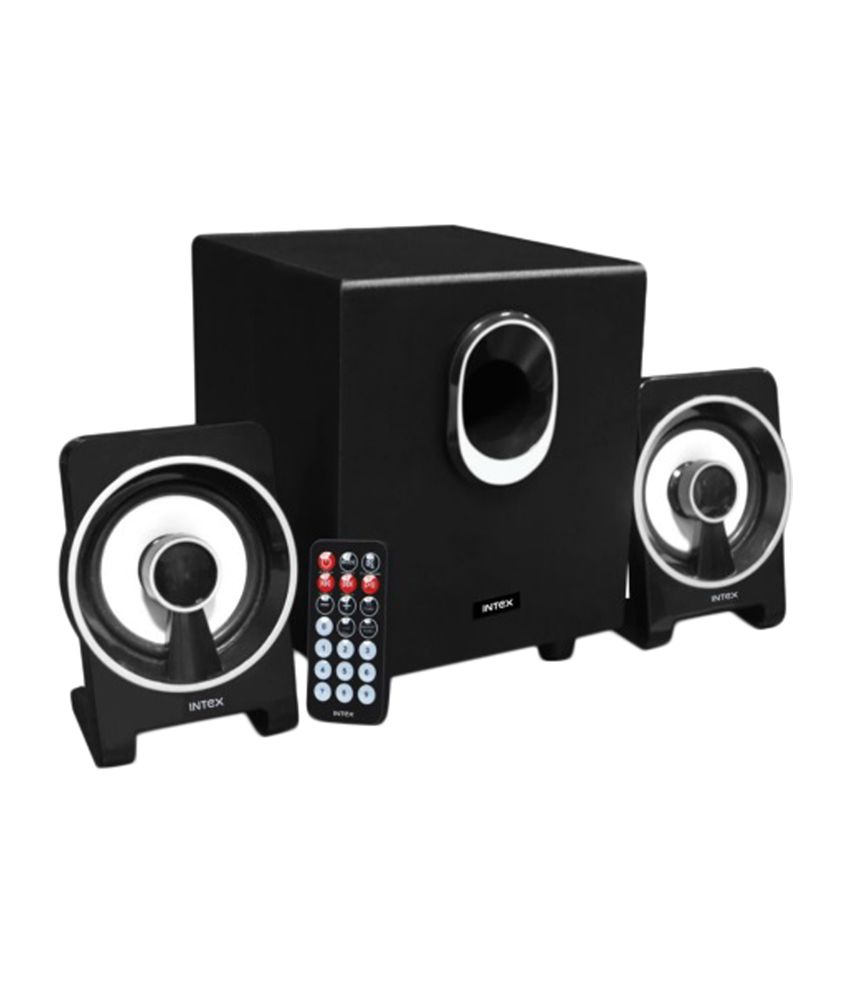 Intex IT-1650 BT 2.1 Multimedia Speakers