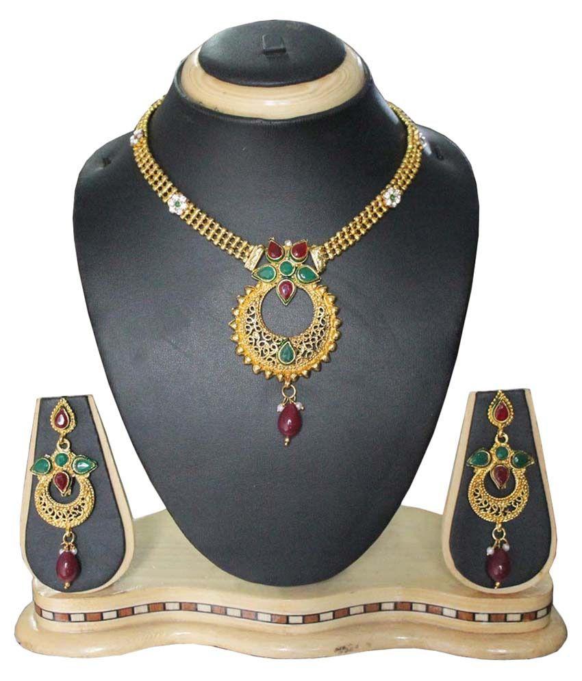Pihu Multicolor Necklaces Set