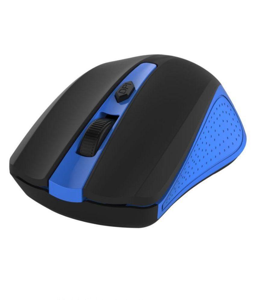 Portronics POR-598 Blue Wireless Mouse