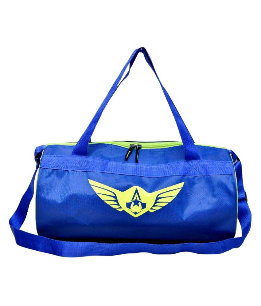Auxter Blue Gym Bag
