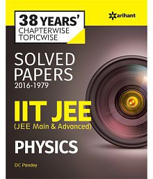 38 Years Chapterwise Topicwise Solved Papers (2016-1979) IIT JEE Physics (English) Paperback