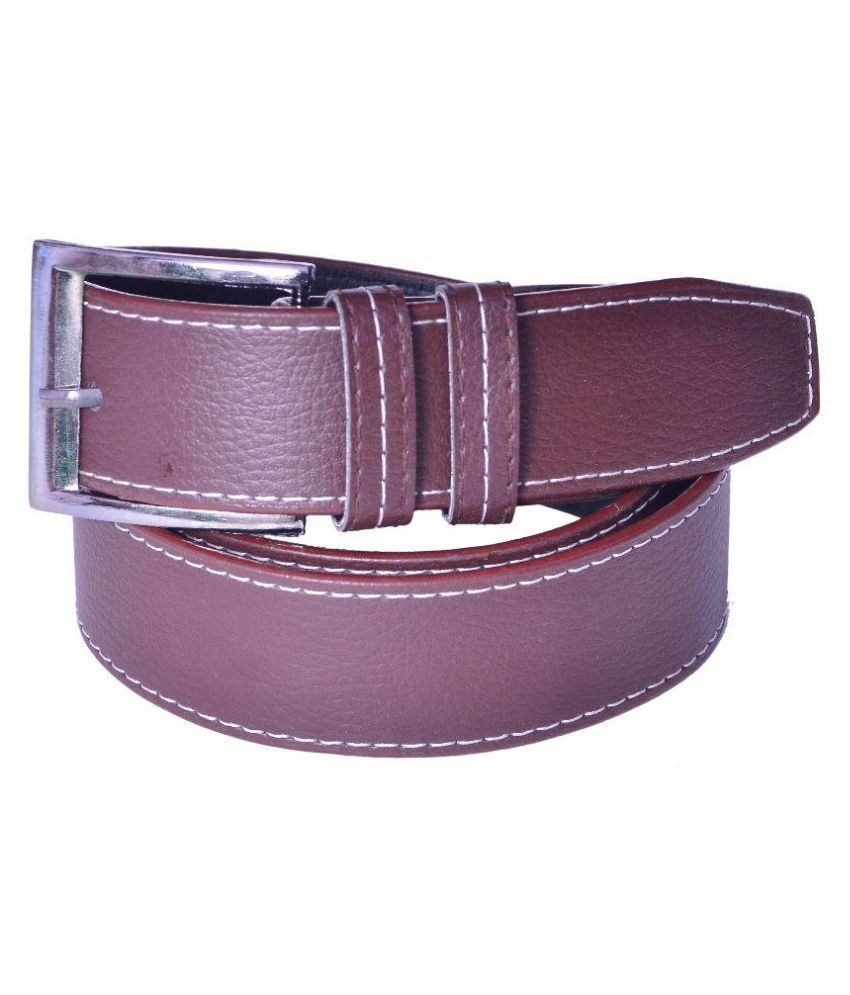 Daller Brown Casual Belt for Men