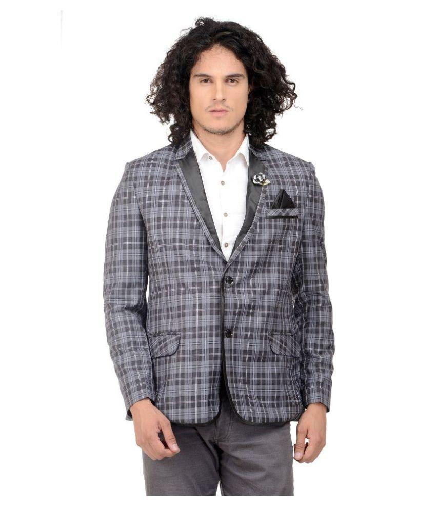 MM Fashion Grey festive Blazers
