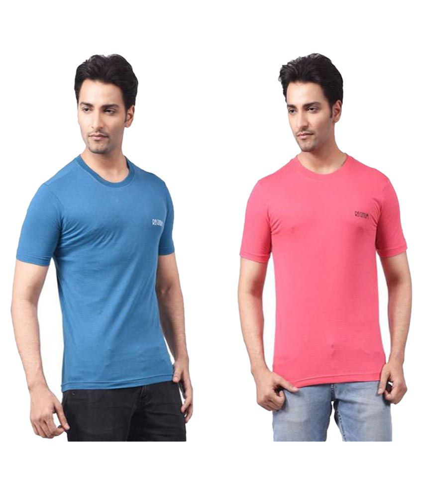Regnum Multi Round T-Shirt Pack of 2