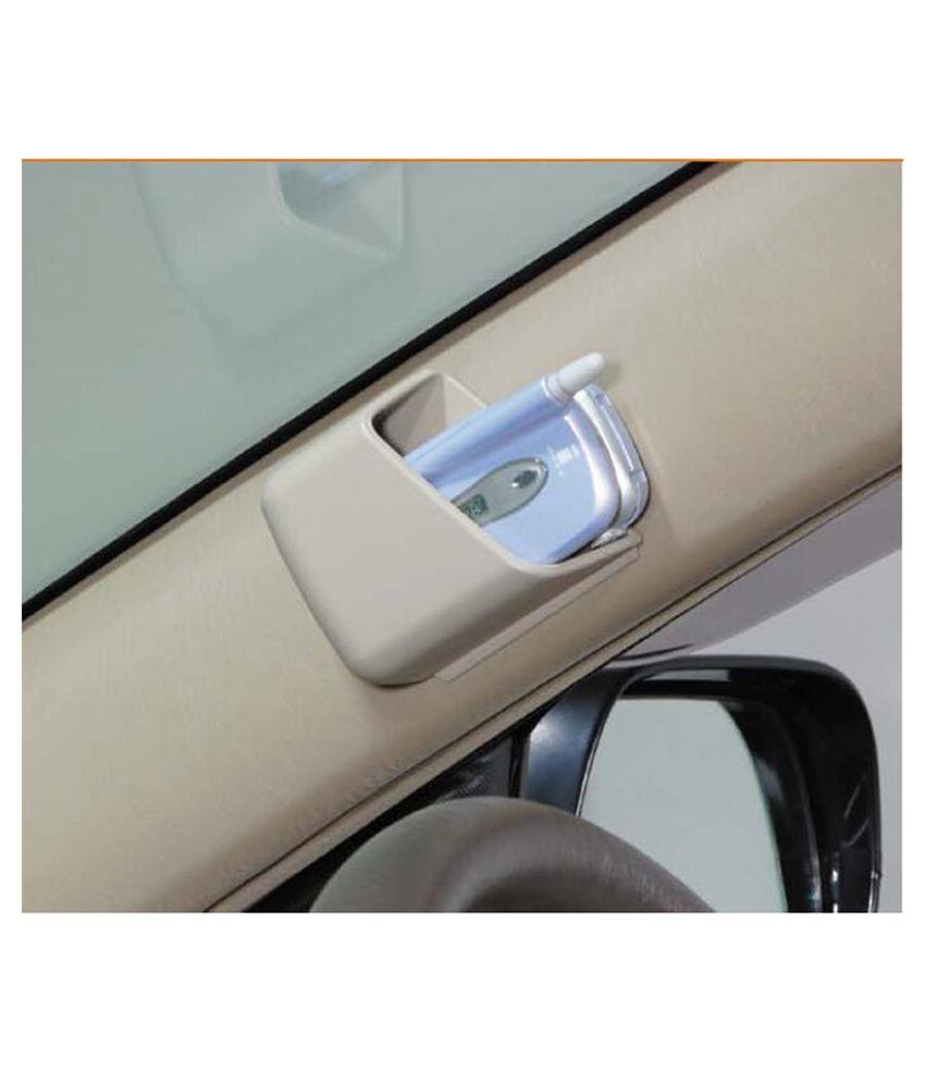Riddhi Siddhi Beige Car Pillar Pocket