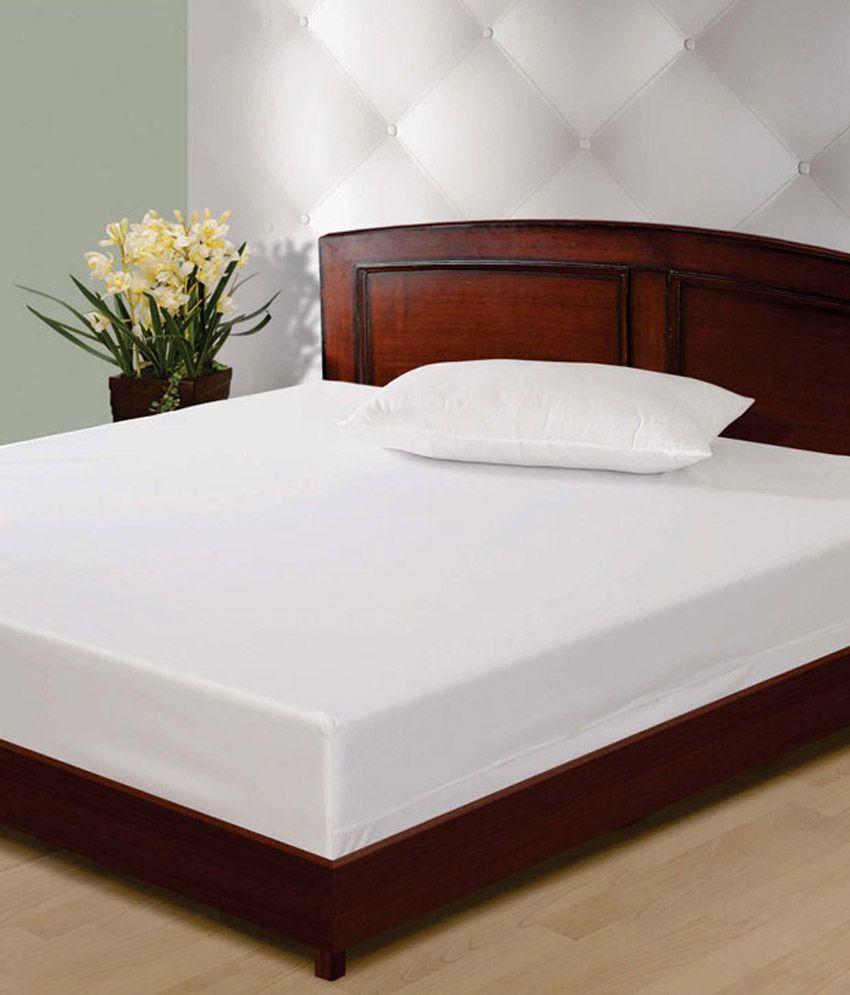 Sleep Number Mattress Reviews >> Sleepsafe Water Proof Mattress protector 75x72 Double Bed ...