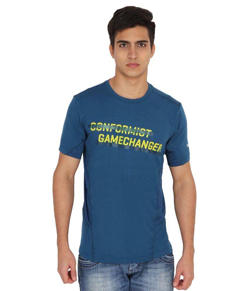 Puma Turquoise Round T-Shirt
