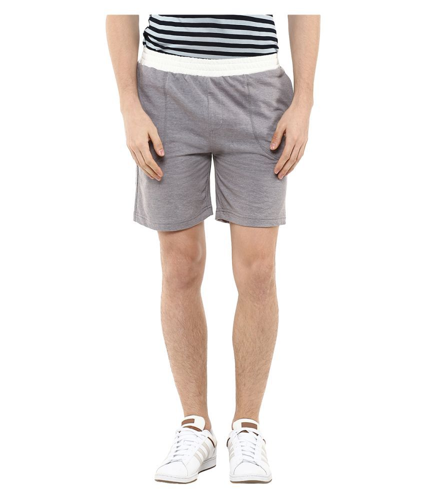 Yepme Grey Shorts