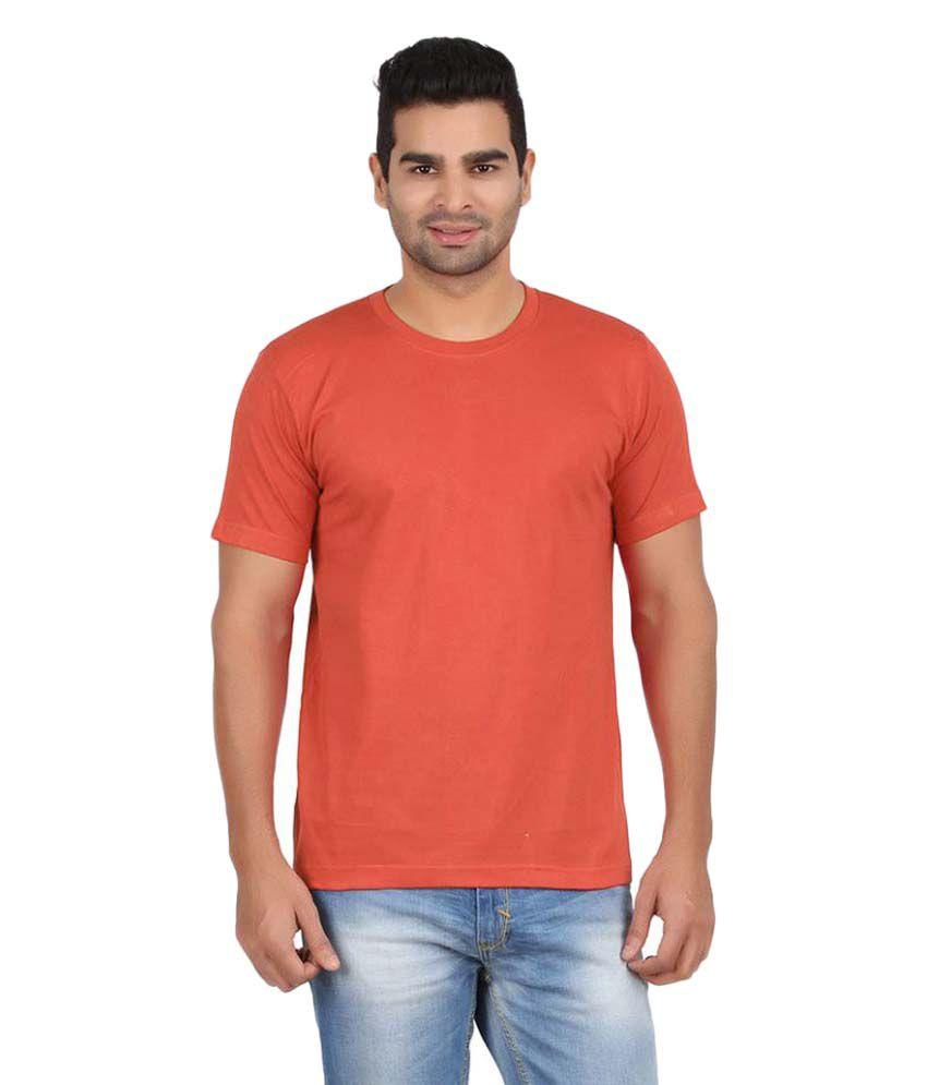 Gallop Orange Round T-Shirt