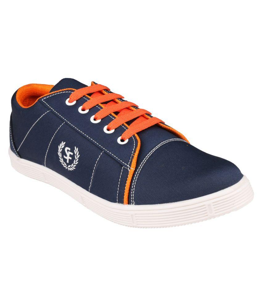 Fanvi Blue Sneaker Shoes