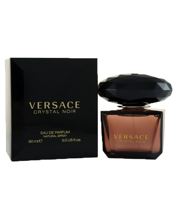 Versace Fragrances Crystal Noir Women EDT 90 ml (Get Free 02 Luxury Perfume  Samples)