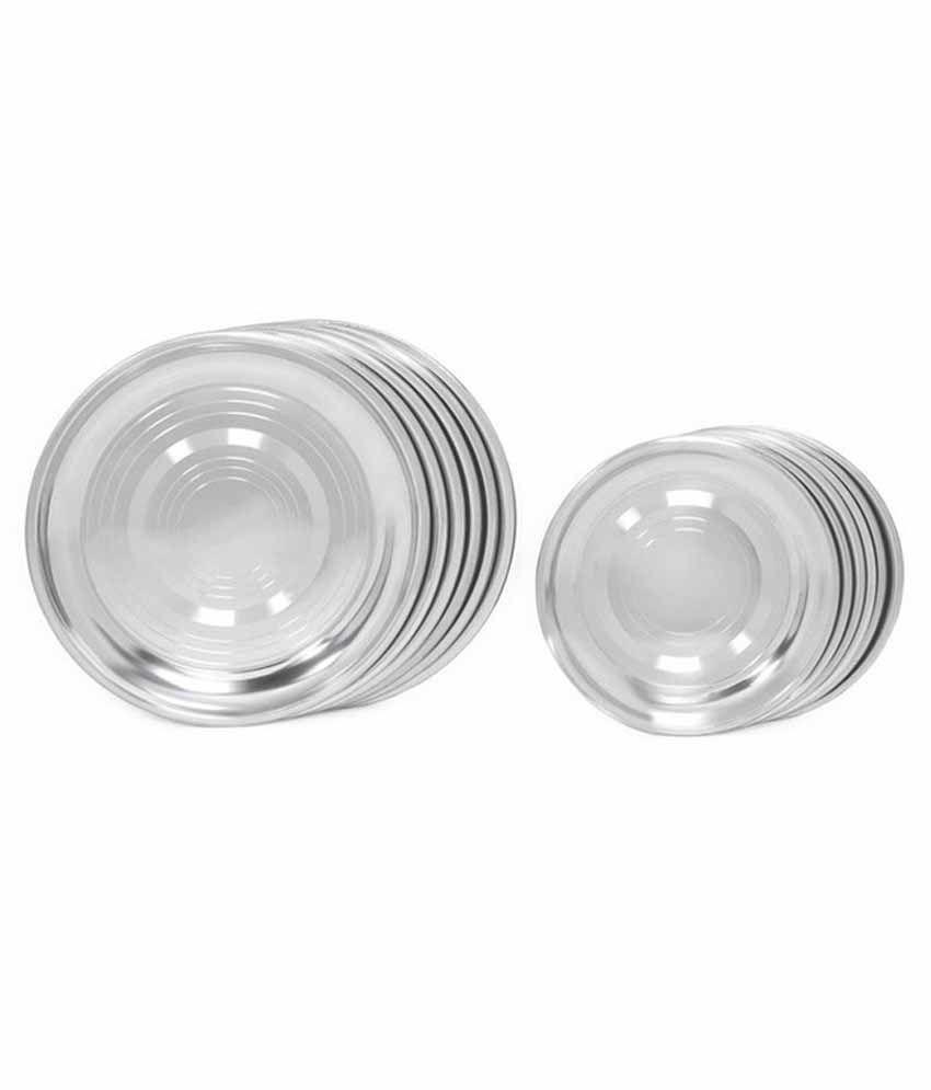Kitchen Pro Stainless Steel Dinner Set 50 Pcs 26 Gauge Buy