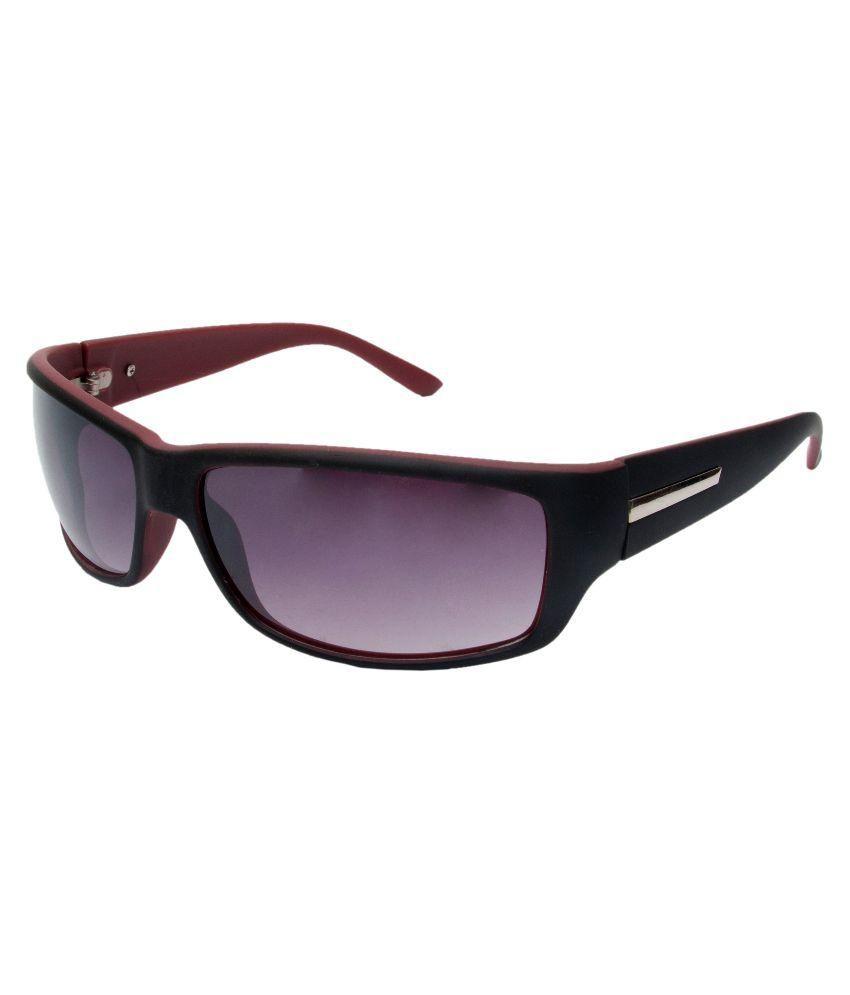 Cruzaar Purple Rectangle Sunglasses ( PRD33PR1 )