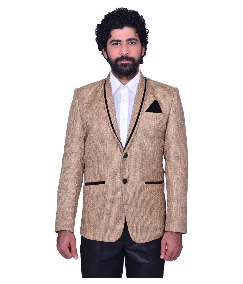 Snoby Beige Party Blazers