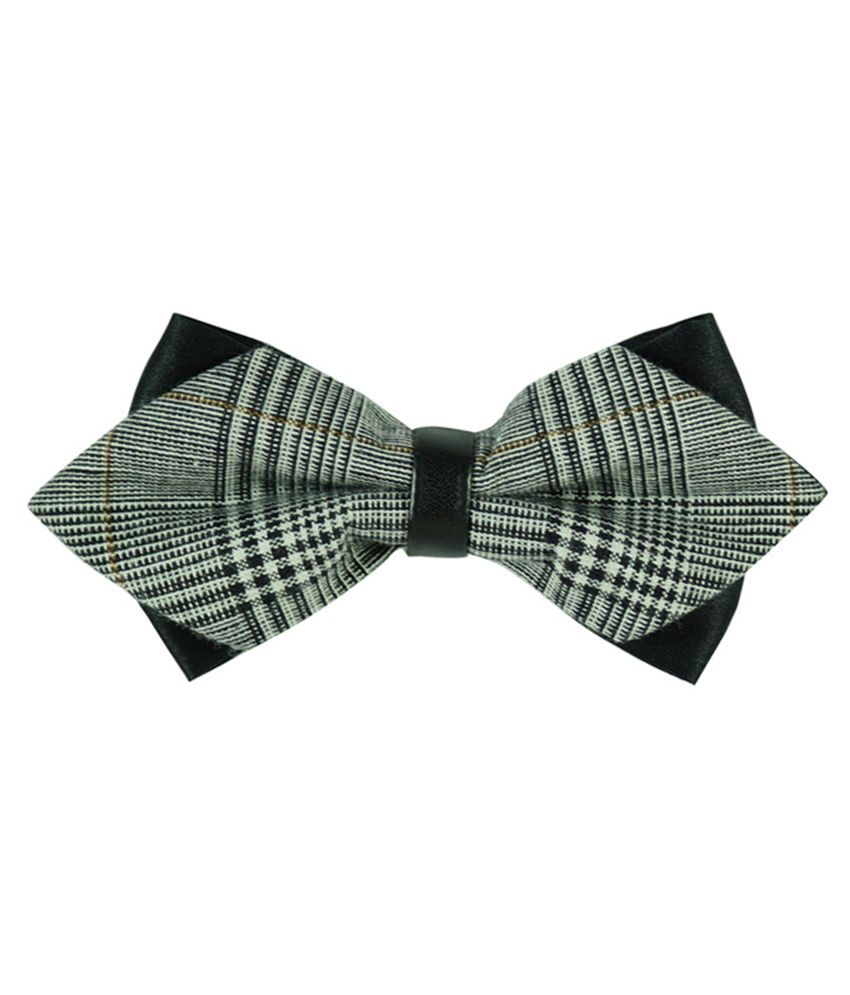 The Tie Hub Multicolour Micro Fiber Bow Ties for Men