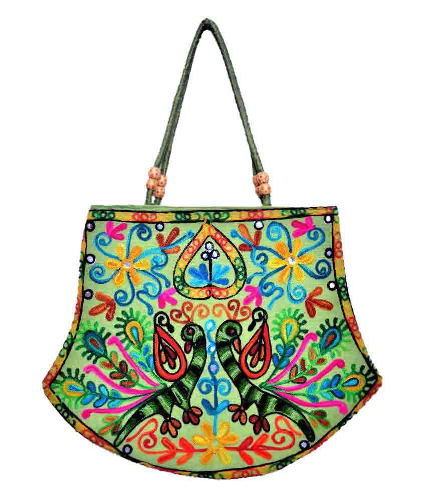 Brothers Creation Multi Canvas Tote Bag
