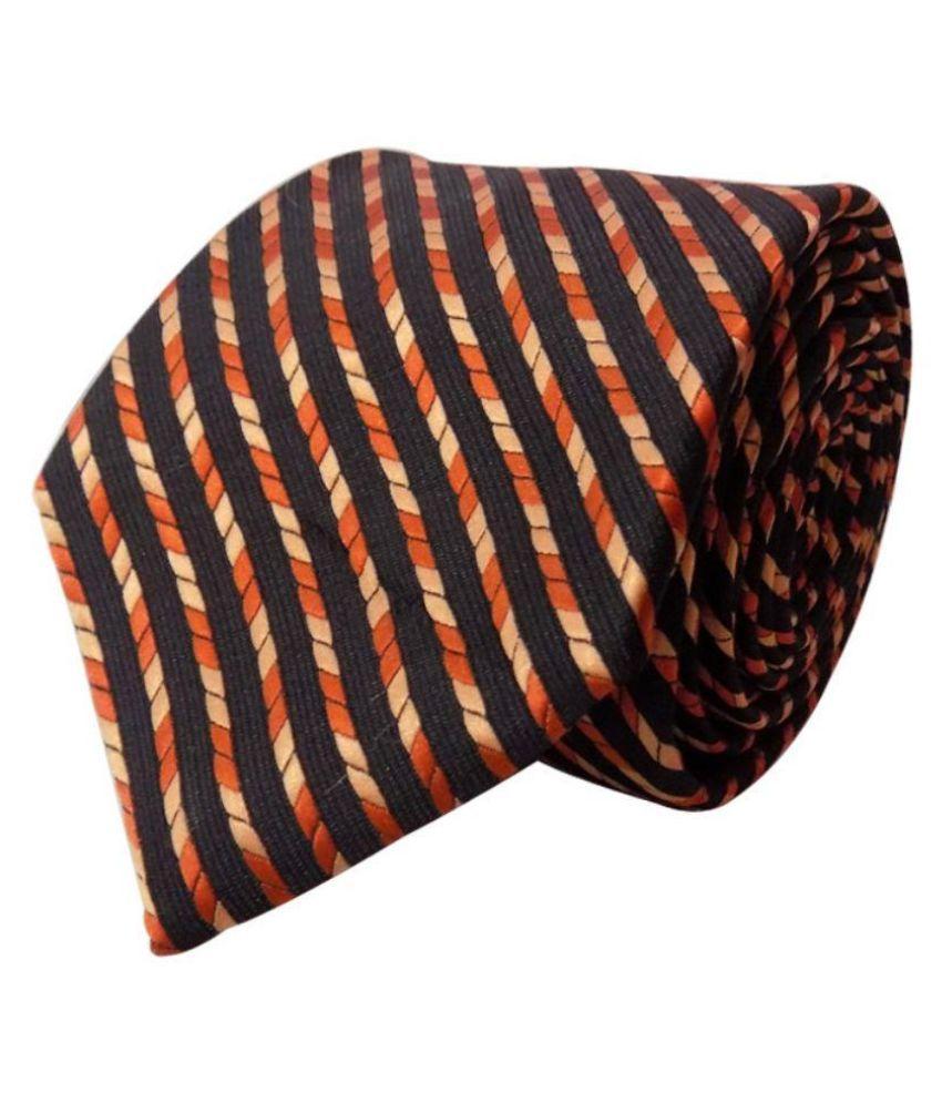 Forty Hands Multicolour Micro Fiber Tie For Men